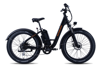 Rad Power Bikes announces new models, including the rugged and approachable RadRhino Step-Thru electric fat tire bike.