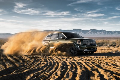 "Kia Telluride wins ""Triple Crown"" of prestigious automotive awards."