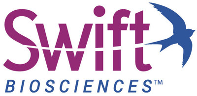 Swift Biosciences develops enabling technologies for genomics, translational, and clinical research. For more information, visit SwiftBioSci.com and follow Twitter (@SwiftBioSci). (PRNewsfoto/Swift Biosciences, Inc.)