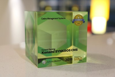 Konami systems technology is ranked first in the industry for user satisfaction.