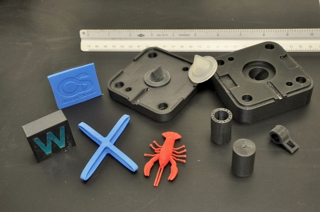 Examples of 3d silicone parts