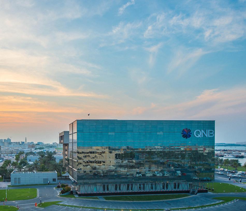QNB Group Headquarters in Doha, Qatar (PRNewsfoto/QNB Group)