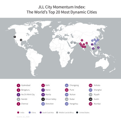 Cities in Asia Pacific dominate top spots on JLL\'s City ...