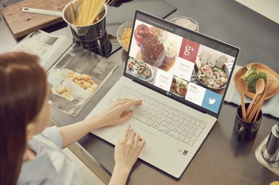 LG gram : le nouvel ordinateur portable qui aide les Canadiens à suivre le rythme pendant leurs déplacements (Groupe CNW/LG Electronics Canada)