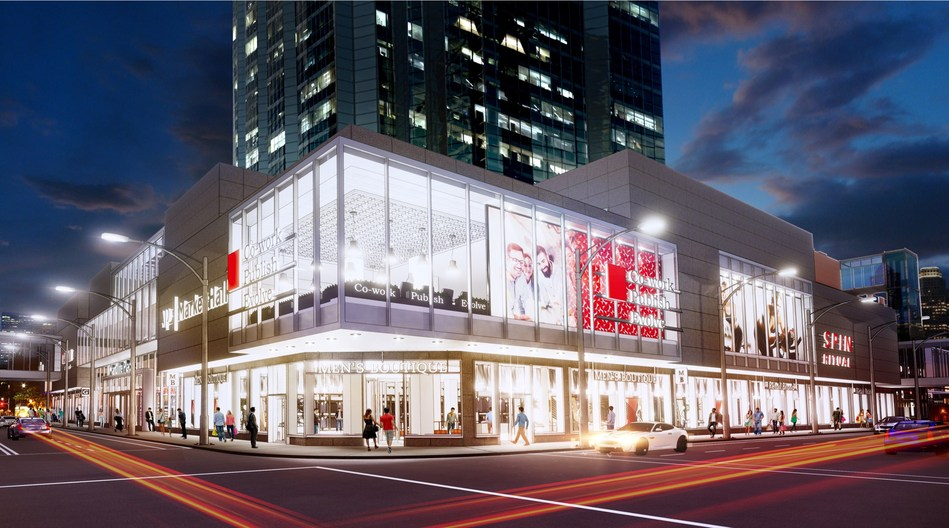 Manulife Investment Management plans for a $30 million redevelopment of Manulife Place in Edmonton (CNW Group/Manulife Investment Management)