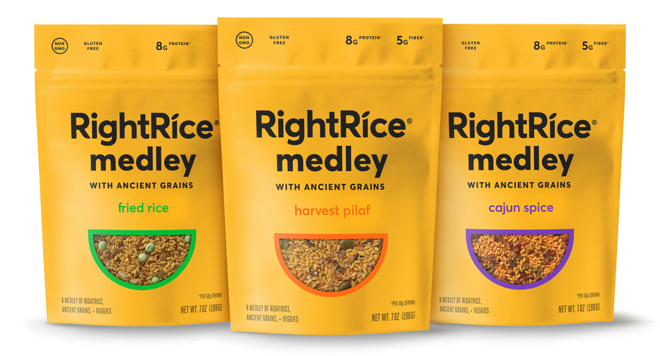 RightRice® continues to reinvent the rice aisle with the debut of RightRice Medley launching nationwide at Whole Foods Market and on Amazon.