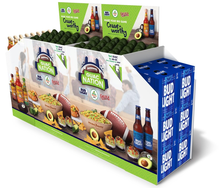 Avocados From Mexico is partnering with Bud Light and Cholula to bring back its Guac Nation program for the second year in a row. Starting on January 2nd through February 4th, shoppers have a chance to purchase the ultimate party pack because a party with avocados is always worth it.