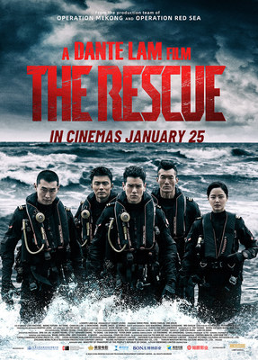 CMC Pictures' THE RESCUE directed by Dante Lam; in cinemas in Australia and New Zealand on January 25