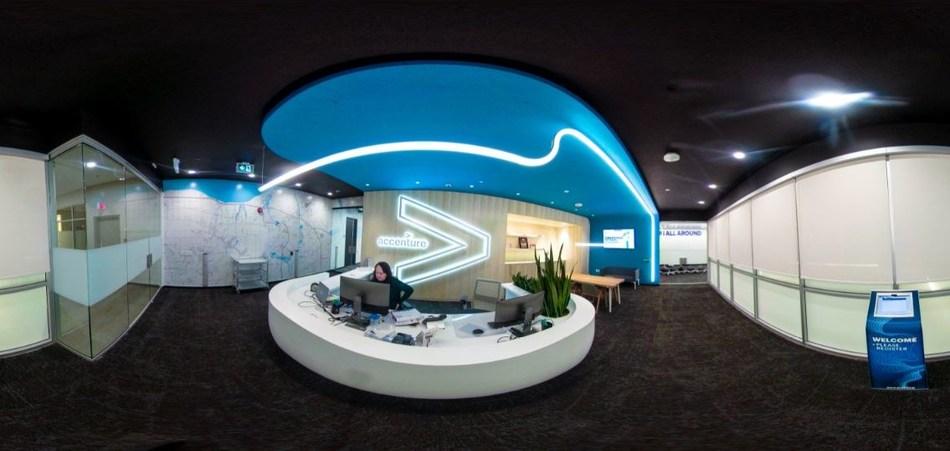 """""""Niagara Nord"""", le centre d'opérations intelligentes d'Accenture au centre-ville de St. Catharines (Groupe CNW/Accenture)"""