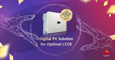 Huawei FusionSolar with Optimal LCOE Popularizes New Energy in MEA-award (PRNewsfoto/Huawei)