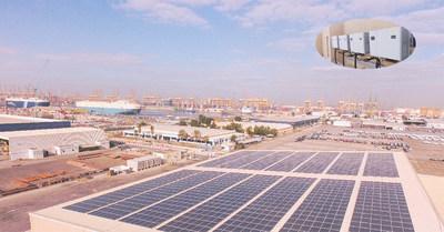 Huawei FusionSolar con LCOE óptimo populariza la nueva energía en el Medio Oriente y África (DP World) (PRNewsfoto/Huawei)