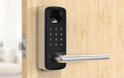 U-tec Introduces New Ultraloq Lever 4-In-1 Smart Door Handle