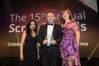 Quanticate Celebrates Winning the Prestigious Scrip Award for Best Contract Research Organization - Specialist Providers (PRNewsfoto/Quanticate)