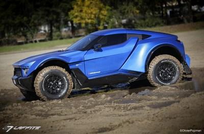 Laffite / G-Tec X-Road 车型:全地形跑车现已开放预订