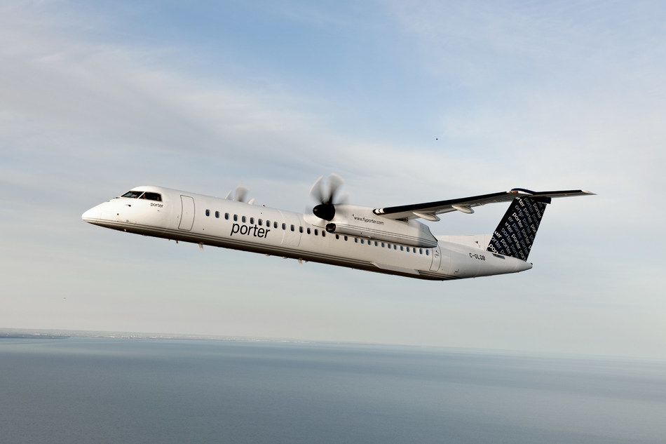 Porter Airlines is resuming seasonal service to Myrtle Beach, South Carolina, beginning March 4, 2020. (CNW Group/Porter Airlines)