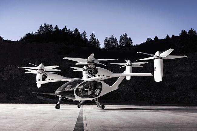 Joby Aviation's Aircraft in Santa Cruz, CA
