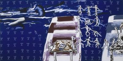 Carol Wainio, Plural Possibilities, 1982 - Collection Musée d'art contemporain de Montréal (Groupe CNW/Musée d'art contemporain de Montréal)
