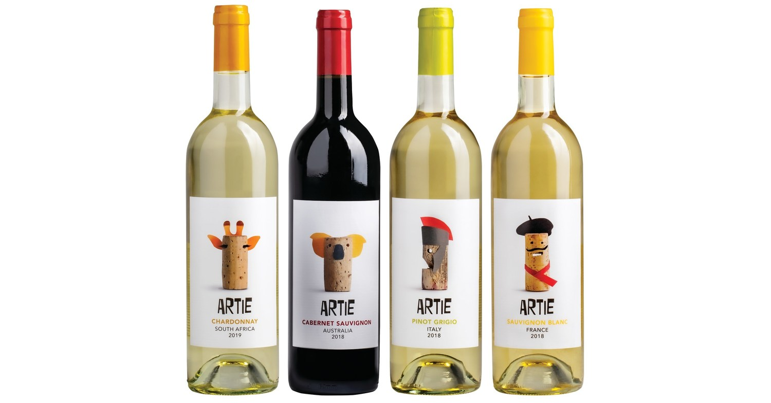 """Giant Food Launches New Wine Line, """"Artie"""" at Virginia Stores"""