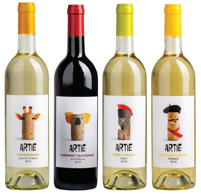 "Giant Food Launches New Wine Line, ""Artie"" at Virginia Stores"