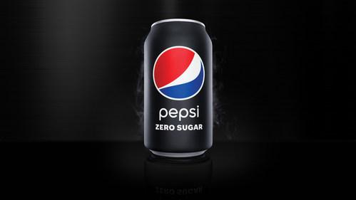 New matte black Pepsi Zero Sugar can