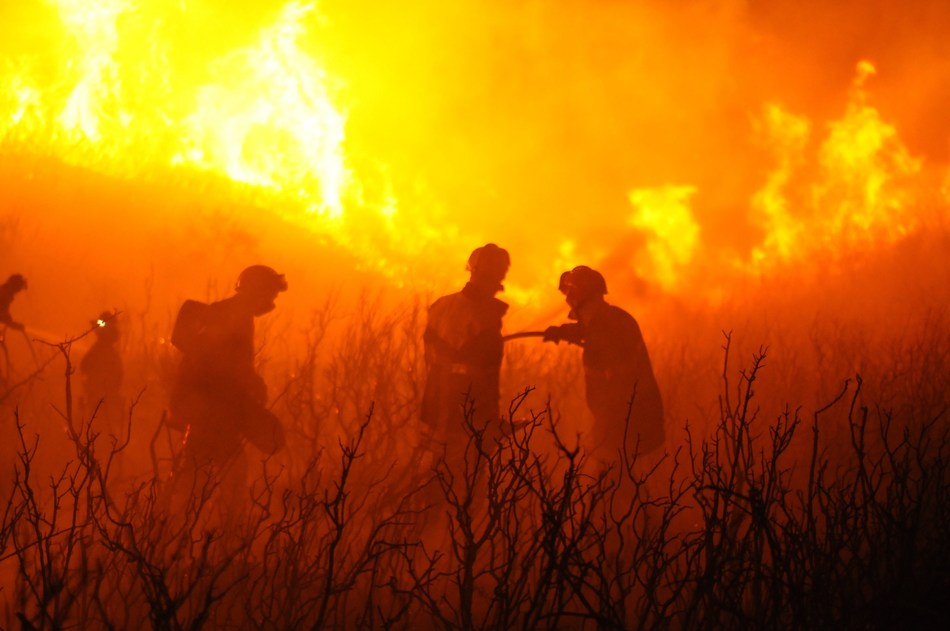 Wildfires in France. Catastrophic Australian bushfires and global climate change trends are highlighting the need for innovative crisis management solutions and closer multinational cooperation, key aspects of the DRIVER+ project. Image credit: CESIR.
