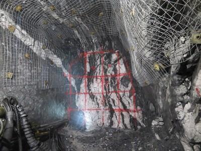 Exhibit C: Level 3 East Round 2. Looking East. (CNW Group/Anaconda Mining Inc.)