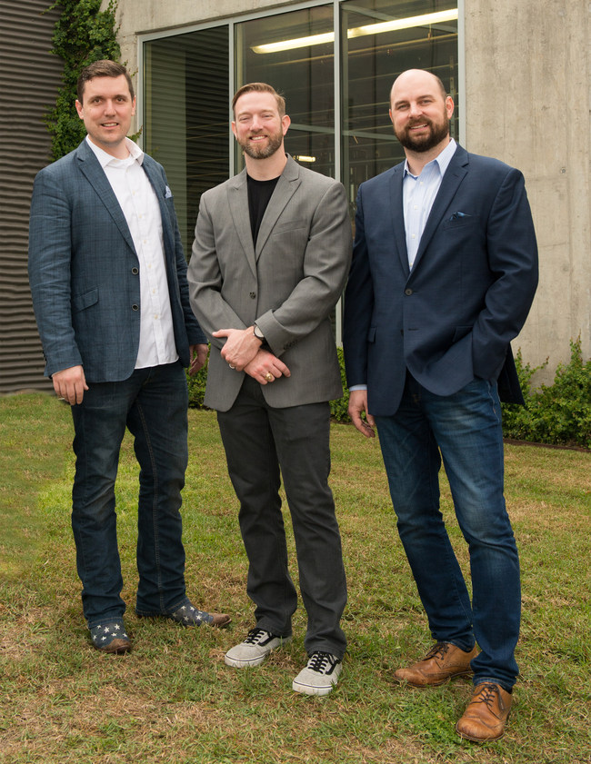 Method Architecture Partners: Keith Holley, Eric Hudson and Jake Donaldson (left to right).