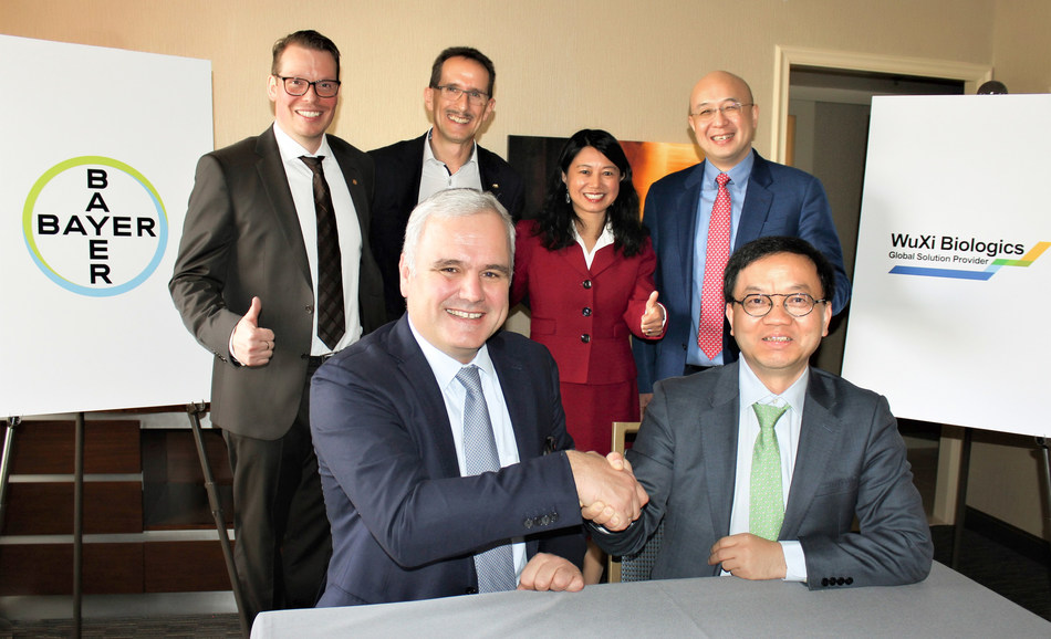 WuXi Biologics and Bayer Enter into an Acquisition Agreement on a Drug Product Plant in Germany
