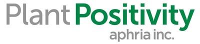 Plant Positivity Aphria Inc Logo (CNW Group/Aphria Inc.)