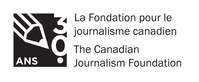 CJF 30-year logo (French) (Groupe CNW/La Fondation pour le journalisme canadien)