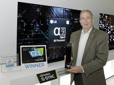 The Best of CES Awards  (the official CES awards program run by Engadget on behalf of the Consumer Technology Association) singled out the LG CX series OLED TVs as the cream of the crop from the literally thousands of new TVs shown at CES.