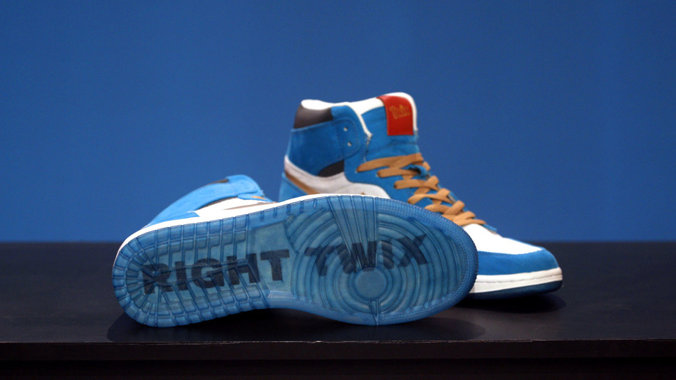 TWIX® partnered with revered sneaker customizer, Dominic Ciambrone a.k.a. The Shoe Surgeon, to replicate everything about new, TWIX® Cookies & Creme, from the soft-creme center packed with crunchy cookie bits to the bright blue wrapper, in a sneaker. A limited release of TWIX® x The Shoe Surgeon will be available in early February.