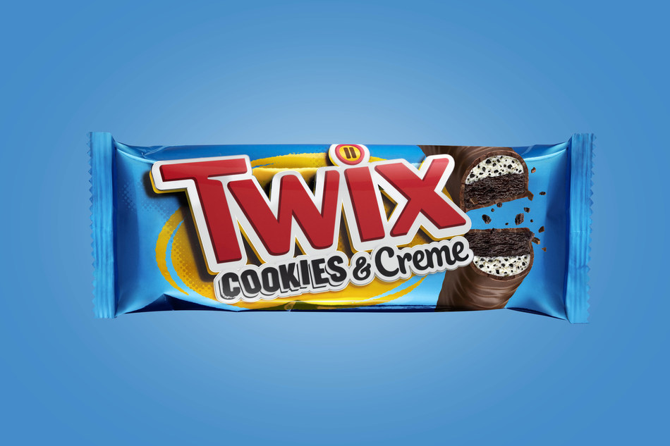 TWIX® Cookies & Creme is now available on store shelves nationwide as the newest edition to the TWIX® flavor lineup. The newest TWIX® flavor is a fun, flavorful twist on the classic, featuring chocolate cookie bars, an all-new, soft-creme center packed with crunchy cookie bits, all while covered in creamy milk chocolate.