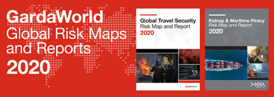 GardaWorld Global Risk Maps and Reports 2020 (CNW Group/Garda World Security Corporation)