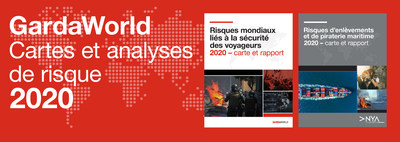 GardaWorld Cartes et analyses de risque 2020 (Groupe CNW/Corporation de Sécurité Garda World)