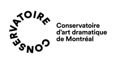 Logo : Conservatoire d'art dramatique de Montréal (Groupe CNW/Conservatoire de musique et d'art dramatique du Québec)
