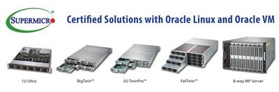 美超微发布同类最佳服务器解决方案,拓展与甲骨文之间的合作关系