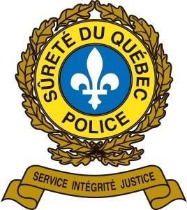 Logo : Sûreté du Québec (Groupe CNW/Fédération des clubs de motoneigistes du Québec)