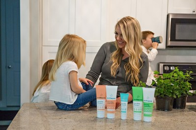 Wells, a mother of six, and her husband/co-founder Seth Spears are delivering on their mission to bring simpler, safe personal care options to homes across the country. Wells has been practicing and perfecting her personal care recipes for over a decade. Today, all Wellnesse products are cruelty-, GMO-, paraben-, and sulfate-free and delivered in recyclable cardboard packaging.