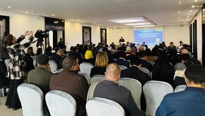 Presentation Conference of China International Import Expo (Morocco) (PRNewsfoto/CIIE)