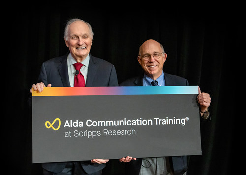 Alan Alda, the Emmy Award-winning actor, director and writer who has become a leading advocate for effective science communication, has partnered with the renowned scientific institute Scripps Research in La Jolla, California. Alda and Peter Schultz, who leads Scripps Research, announced the collaboration on Jan.16.