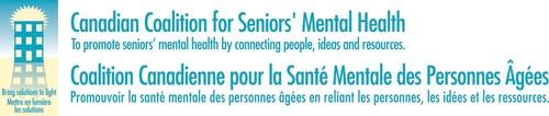 Logo: Canadian Coalition for Seniors' Mental Health (CNW Group/Canadian Coalition for Seniors' Mental Health)