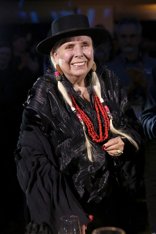 ANAHEIM, CALIFORNIA - JANUARY 18: Joni Mitchell attends The 35th Annual NAMM TEC Awards on January 18, 2020 in Anaheim, California. (Photo by Jesse Grant/Getty Images for NAMM)