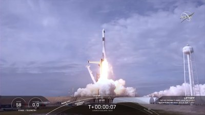 NASA and SpaceX completed a launch escape demonstration of the company's Crew Dragon spacecraft and Falcon 9 rocket on Jan. 19, 2020. The test began at 10:30 a.m. EST with liftoff from Launch Complex 39A at NASA's Kennedy Space Center in Florida on a mission to show the spacecraft's capability to safely separate from the rocket in the unlikely event of an inflight emergency.