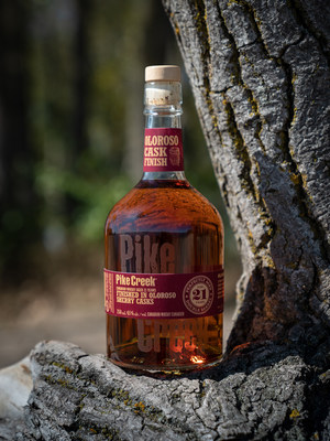 Pike Creek 21 Year Old Oloroso Cask Finish (CNW Group/Corby Spirit and Wine Communications)