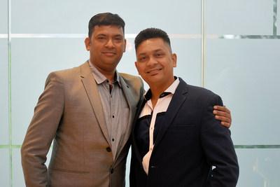 Mr. Umang Bansal(left) - Chairman & Mr Gaurav Bansal - Managing Director | Polo Elevators