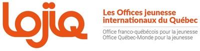 Logo : LOJIQ - Les Offices jeunesse internationaux du Québec (Groupe CNW/Les Offices jeunesse internationaux du Québec)