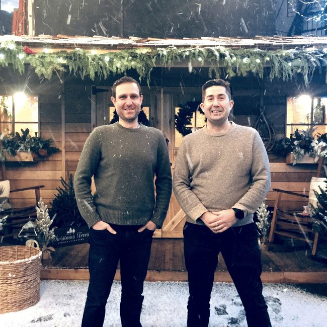 Jared Alster, Tom Buckley, co-founders