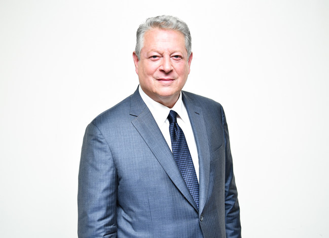 Al Gore - Politicien et environnementaliste. 45e vice-président des États-Unis (Groupe CNW/Fondation Jasmin Roy Sophie Desmarais)