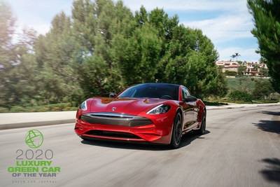 The 2020 Karma Revero GT earned Green Car Journal's 2020 Luxury Green Car of the Year™ for blending its environmental performance with high levels of luxury and an exceptional driving experience. The high-profile award, which was announced during the Washington Auto Show's Policy Day in Washington, D.C., recognizes environmental achievement in the automotive industry. Karma's 2020 Revero product line is offered in two variants, the Revero GT, Karma's definitive luxury electric vehicle currently available through Karma's North American retail network, and Revero GTS, a performance version beginning production in Q1 of 2020.